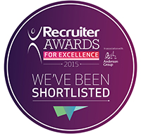 We've been shortlisted for an award!