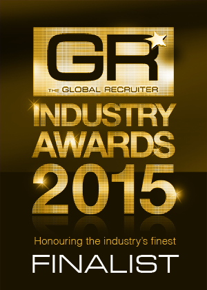 We're finalists at the Global Recruiter Industry Awards