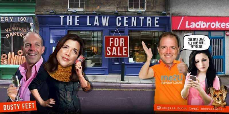 Not on the high street - Law Centres could disappear in 5 years!
