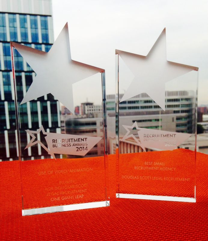 Double winners at the Recruitment Business Awards 2014