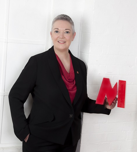 Up for the challenge. Metro Bank's Sally-Ann James