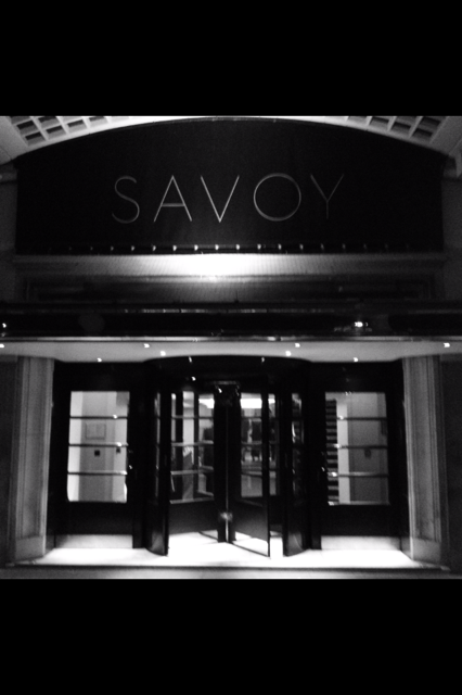 A night to remember at The Savoy…