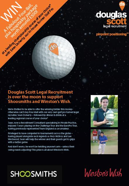 Douglas Scott Supporting Shoosmiths CSR